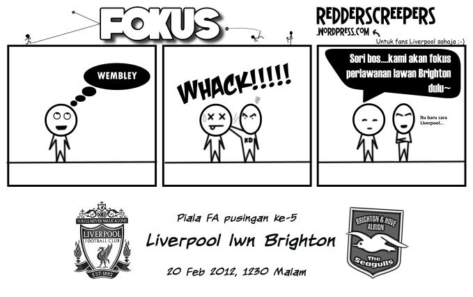 Liverpool vs Brighton Piala FA Pusingan ke-5
