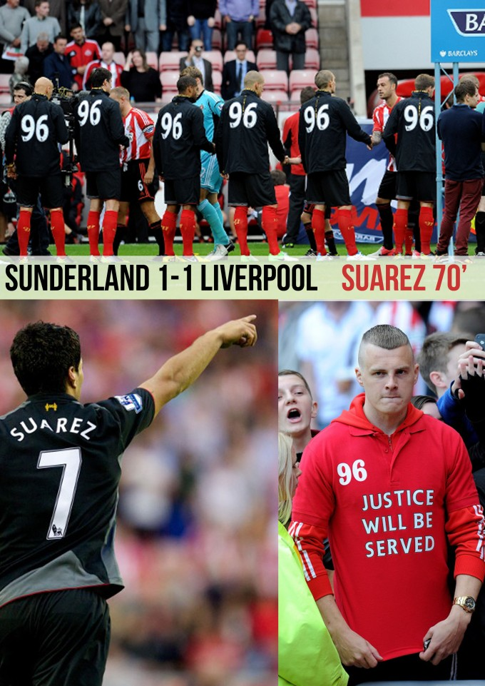 Cover Report Sunderland 1-1 Liverpool