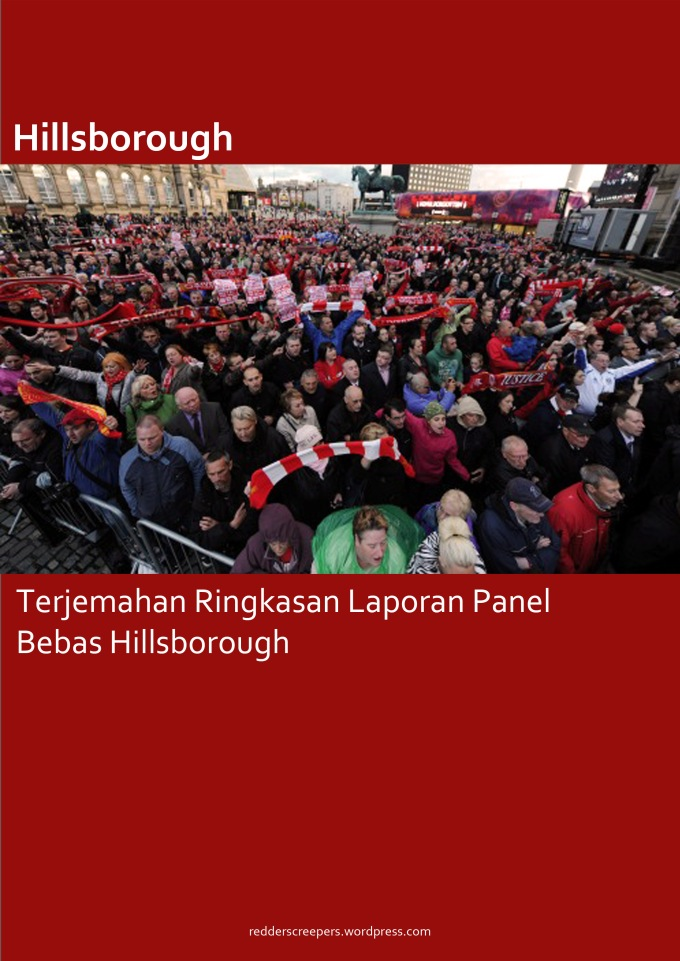 Muka Depan Terjemahan Laporan Panel Bebas Hillsborough
