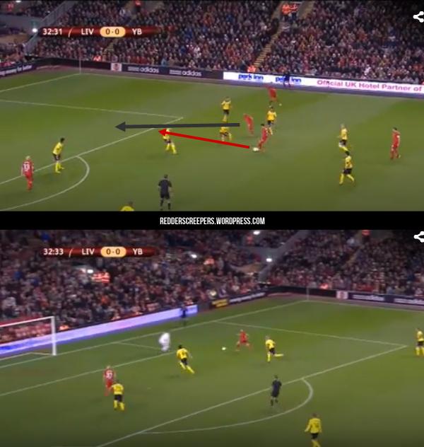 Gol Pertama Liverpool 2-2 Young Boys
