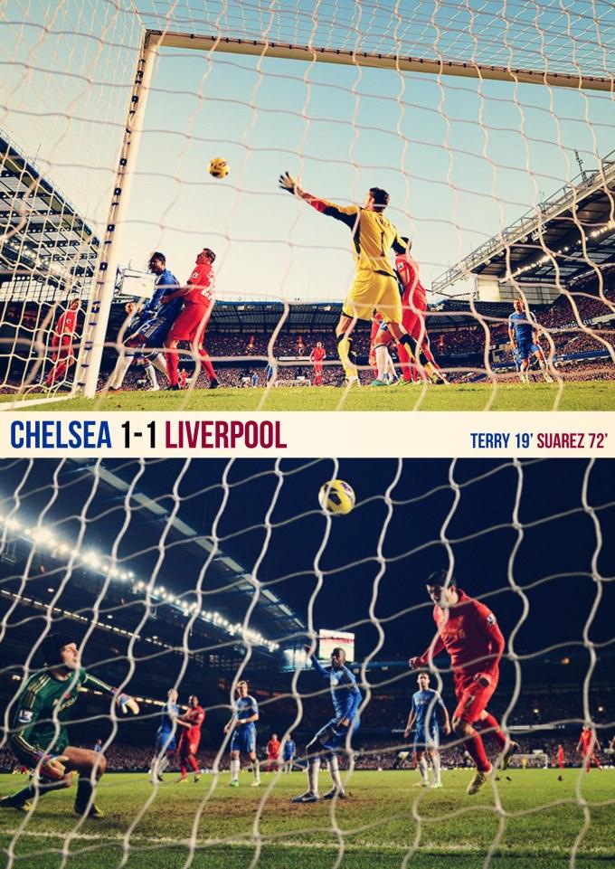 Muka Depan Ulasan Chelsea 1-1 Liverpool 12-11-2012