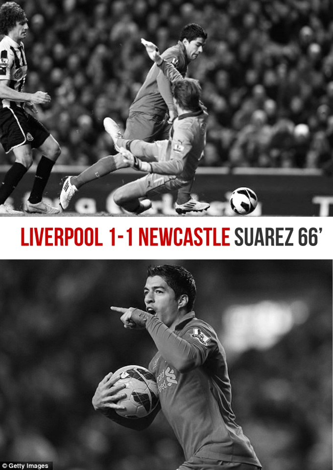 Muka Depan Ulasan Liverpool 1-1 Newcastle