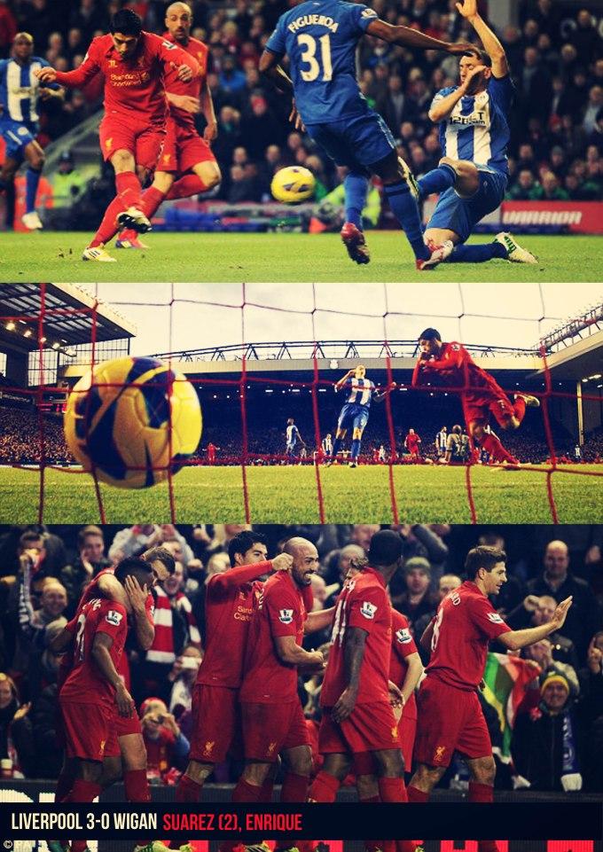 Muka Depan Ulasan Liv 3-0 Wigan 17/11/2012