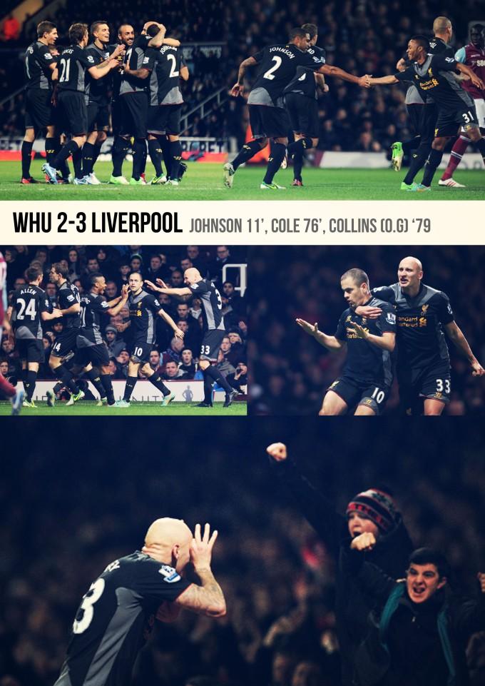 Muka Depan Ulasan WHU 2-3 Liverpool