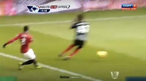 Gol v. Persie vs Liverpool 13/1/2013 C