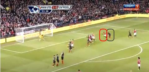 Gol Vidic vs Liverpool 13/1/2013 A