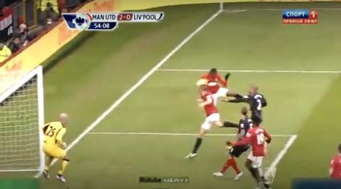 Gol Vidic vs Liverpool 13/1/2013 B