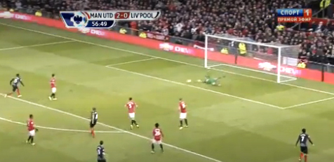 Gol Sturridge vs Man United 13/10/2013