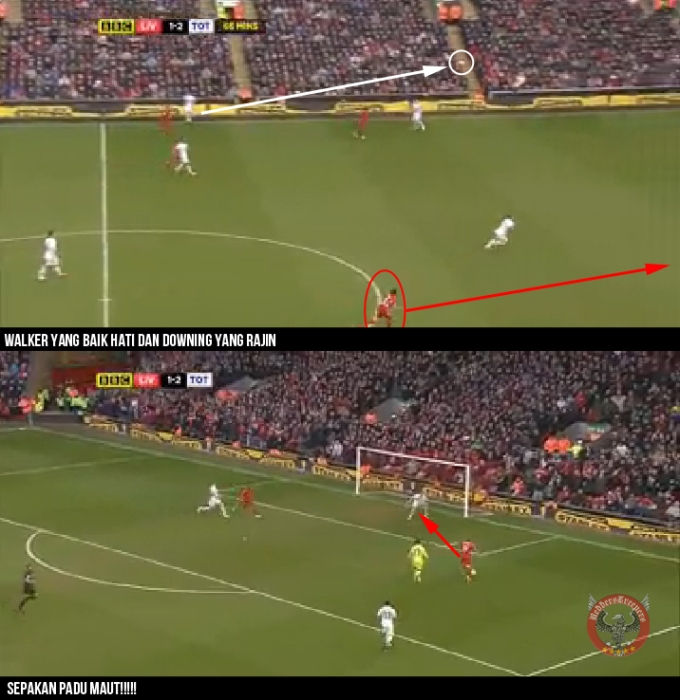 Analisis Gol 4 Downing