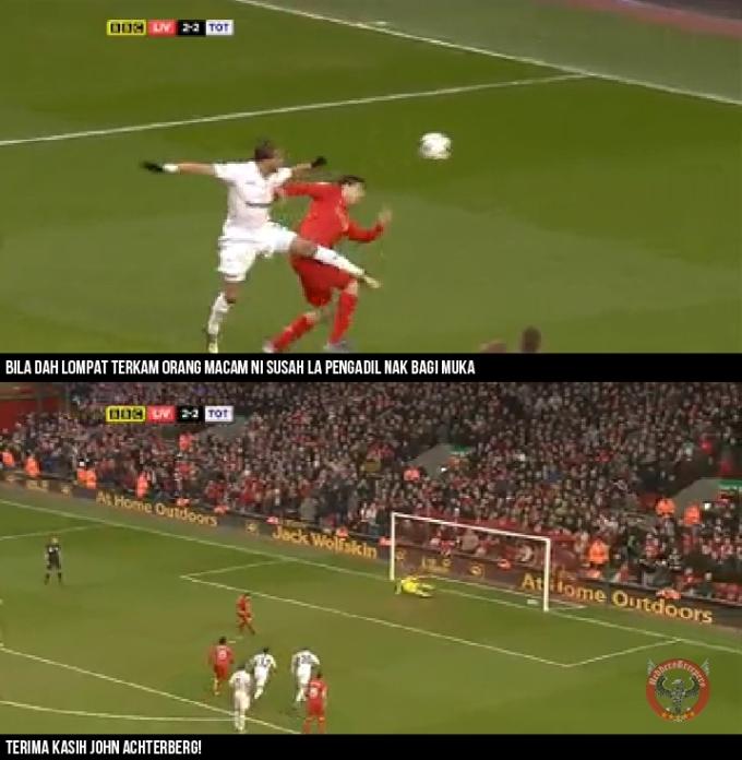 Analisis Gol 5 Gerrard