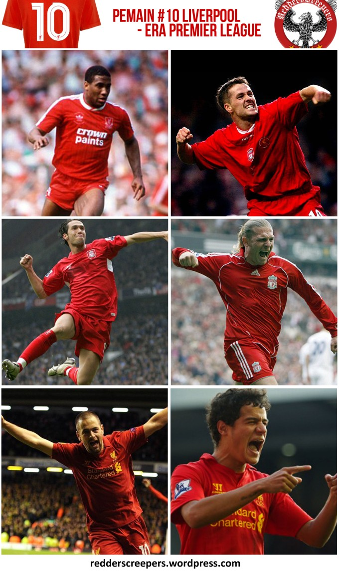 Muka Depan Artikel Pemain Nombor 10 Liverpool