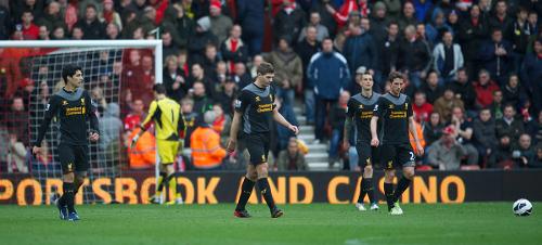 Kecewa. (Gambar dari Laman Rasmi Liverpool FC)
