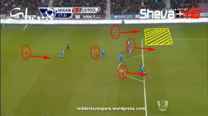 Wigan 0-2 Liverpool Suarez