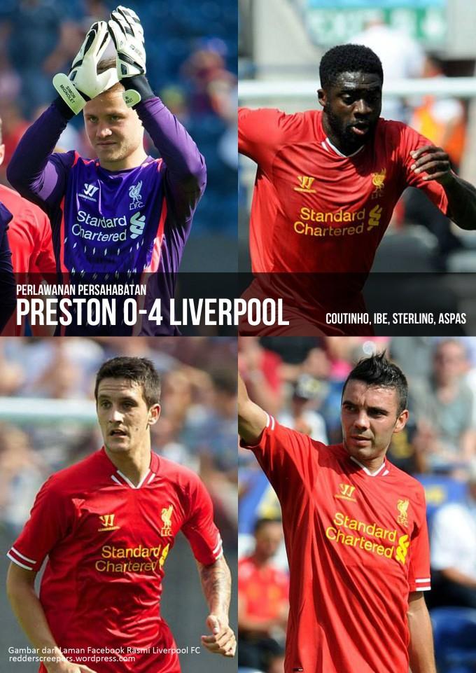Muka Depan Laporan Perlawanan Preston 4-0 Liverpool