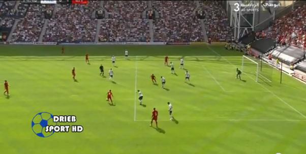 "Corak serangan yang psotifi dari Liverpool. Kalau tengok balik. Semuanya bermula dari sebelah kiri. Tengok betapa ""smooth"" Liverpool bergerak dari kiri ke kanan ;-)"