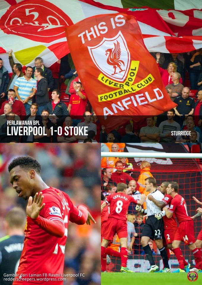 Muka Depan Laporan Perlawanan Liverpool 1-0 Stoke