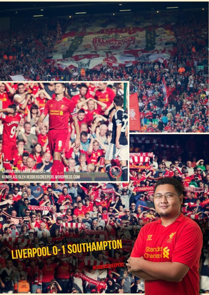 Ulasan Perlawanan Liverpool 0-1 Southampton redderscreepers