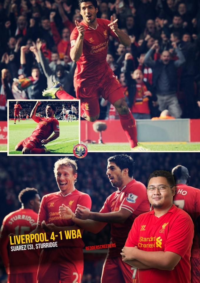 Muka Depan Ulasan Liverpool 4-1 WBA
