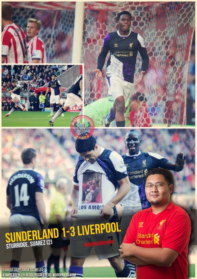 Ulasan Perlawanan Sun 1-3 Liverpool