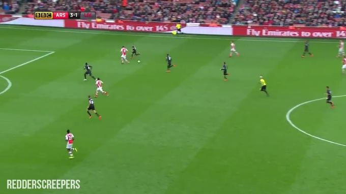 Tak ada apa boleh dibuat bila bola sampai ke kaki Giroud